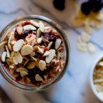 Recipe: Overnight oats with US Montmorency Tart Cherries