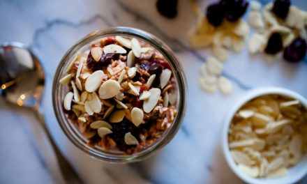 Recipe: Overnight oats with US Montmorency Tart Cherries