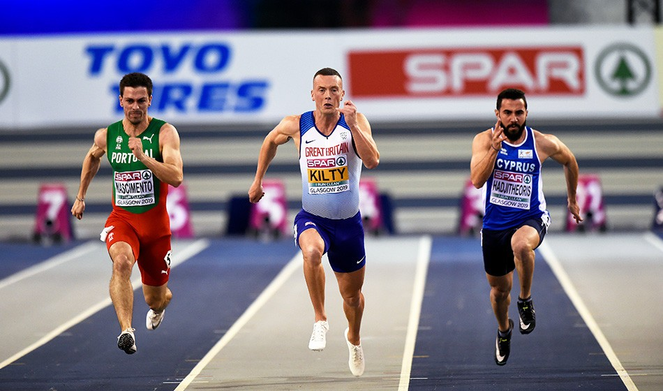 Smooth passage for Britain's sprinters in Glasgow