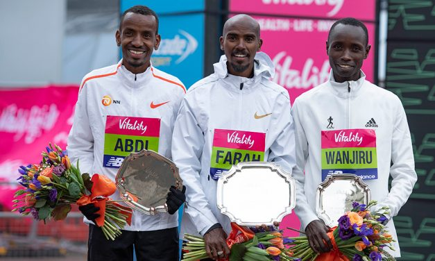 Mo Farah and Charlotte Purdue retain Big Half titles