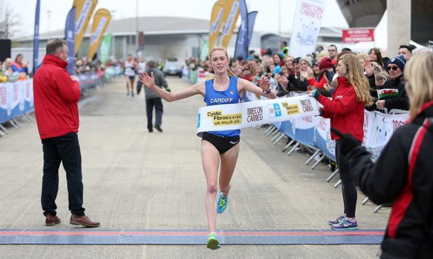 Charlotte Arter and Adam Clarke win Cardiff Bay Run – weekly round-up