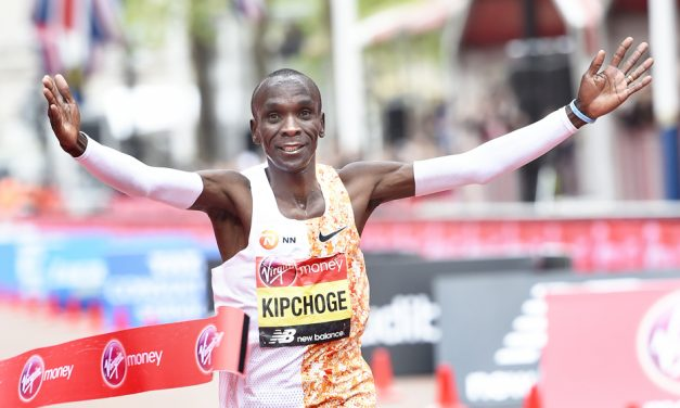 Eliud Kipchoge crowned king of London for a fourth time