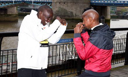 Eliud Kipchoge and Mo Farah braced for London Marathon battle