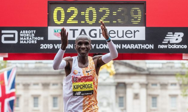 Eliud Kipchoge remains focused after fourth London Marathon win