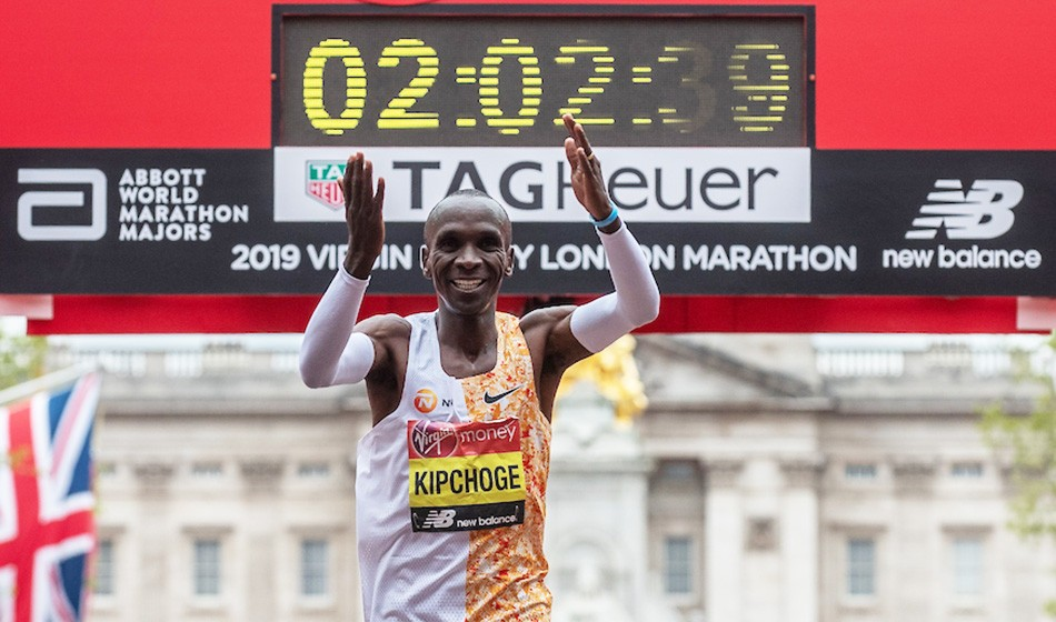 ccbe91e4d26fc Eliud Kipchoge remains focused after fourth London Marathon win ...