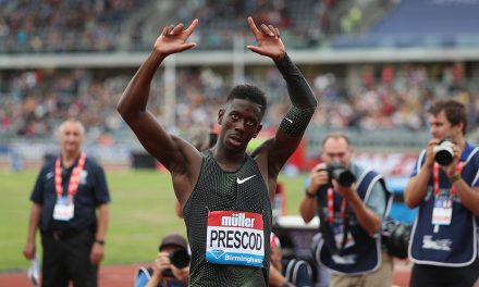 Sprint stars at the Anniversary Games