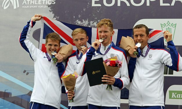 GB team wins first ever medals in European Race Walking Cup