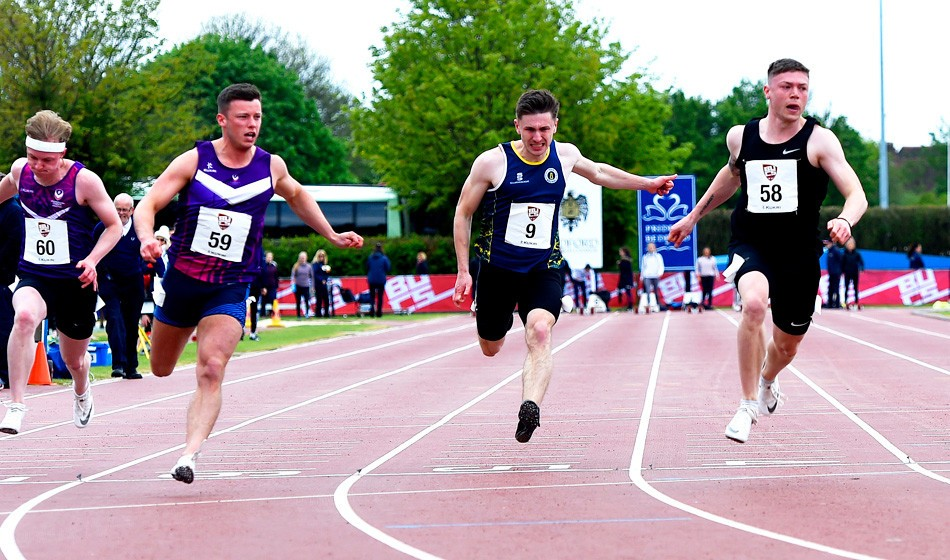 Oliver Bromby and Shannon Malone crowned Britain's fastest university students