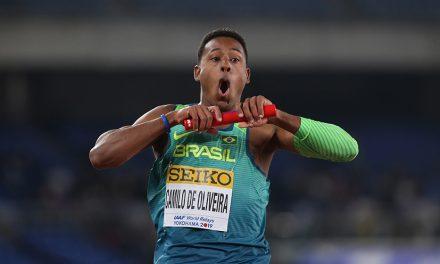 Brazil win 4x100m as GB's men are third in Yokohama