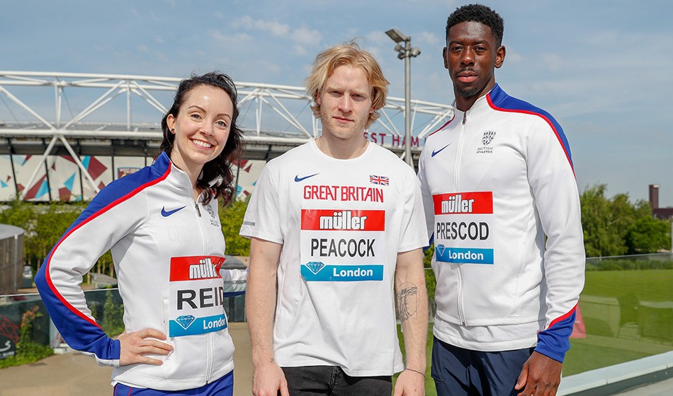 Stef Reid, Jonnie Peacock and Reece Prescod announced for Anniversary Games