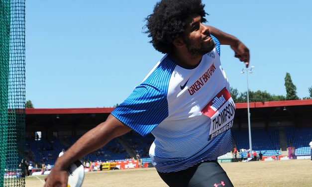 GB discus talent Greg Thompson ready to make his mark