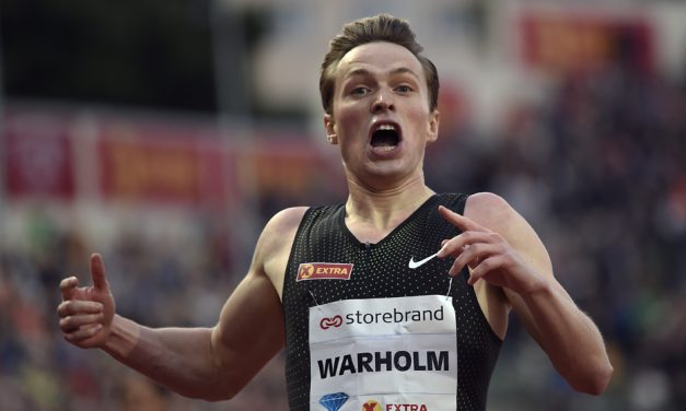 Karsten Warholm breaks European 400m hurdles record in Oslo