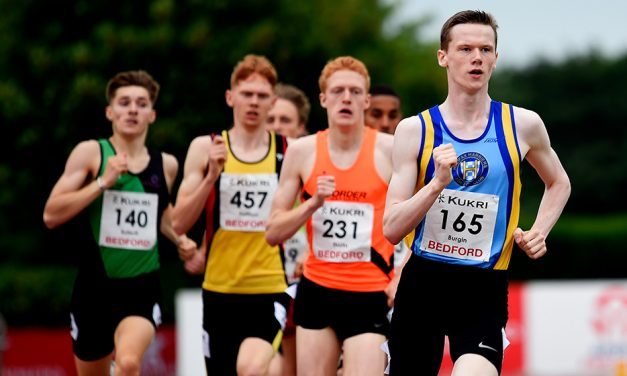 Max Burgin breaks British U20 800m record in Bedford