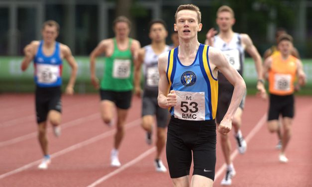 Max Burgin breaks UK under-18 800m best in Loughborough