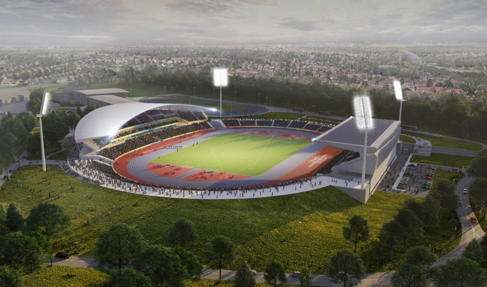 Alexander Stadium redevelopment plans published