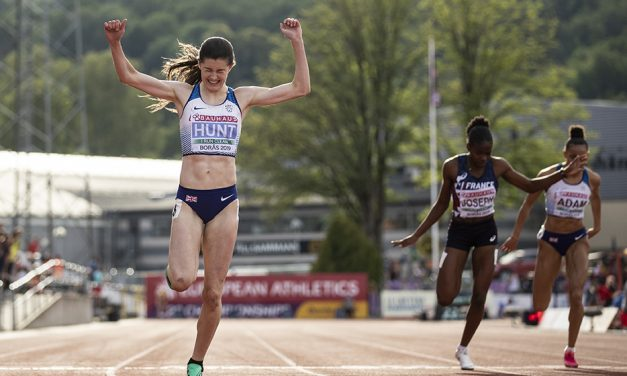 Amy Hunt leads GB gold rush in Borås