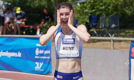 Amy Hunt reflects on blistering sprint record