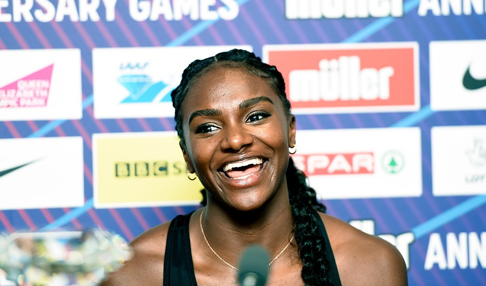 Energised Dina Asher-Smith embracing expectation