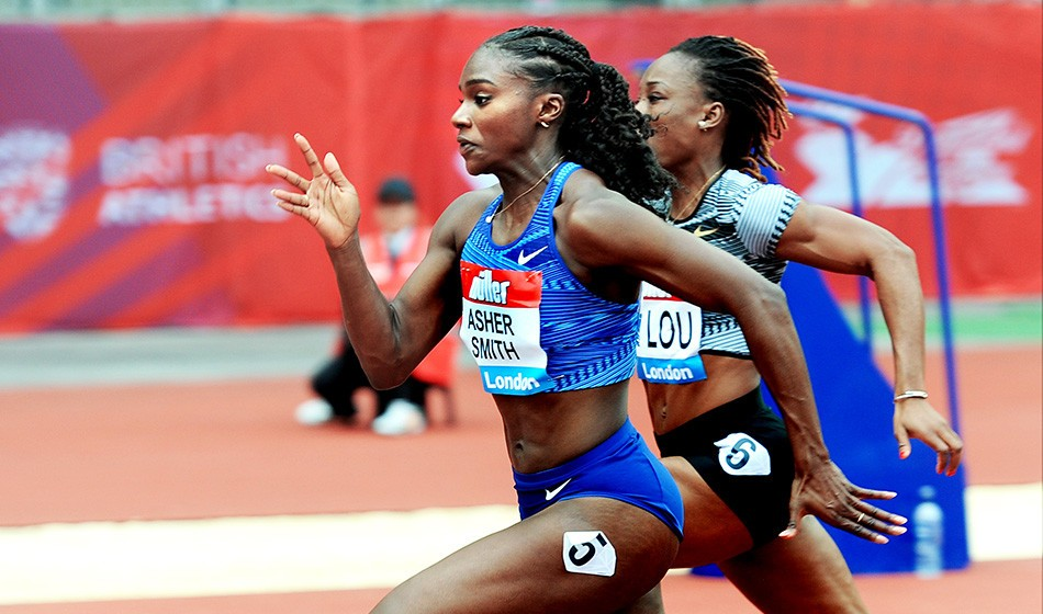 Dina Asher-Smith in star-studded Birmingham Grand Prix 200m