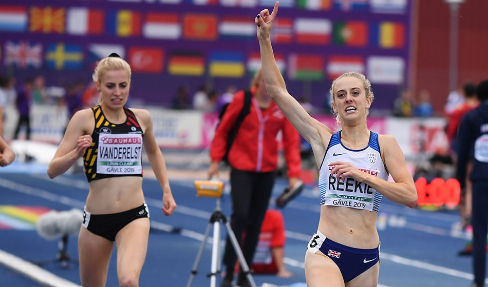 Jemma Reekie wins double European U23 gold in Gävle