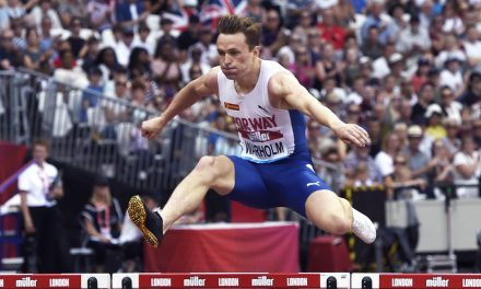 European record for Karsten Warholm