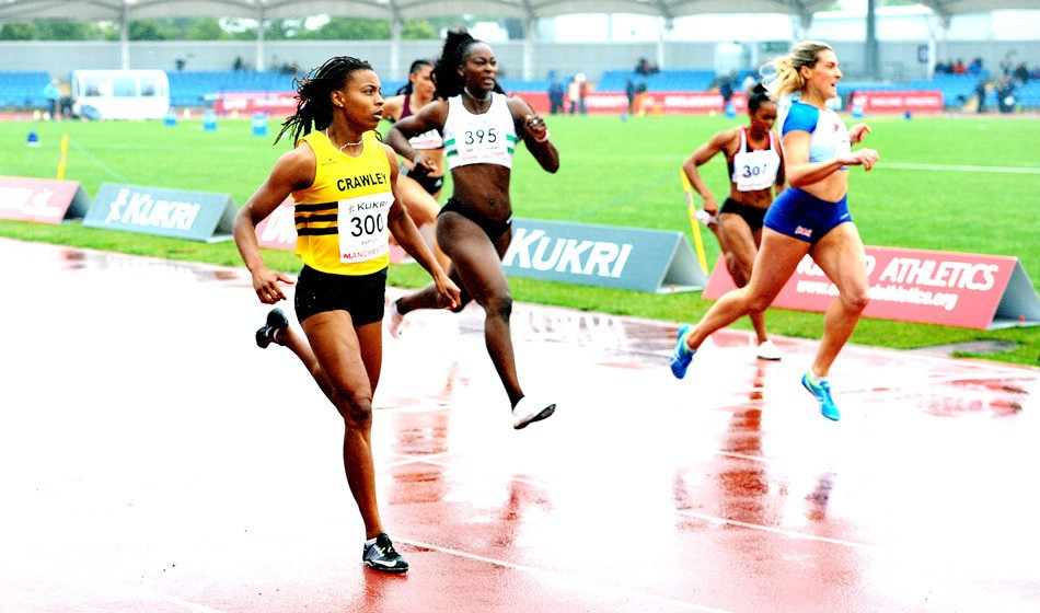 Kimbely Baptiste among double winners in Manchester