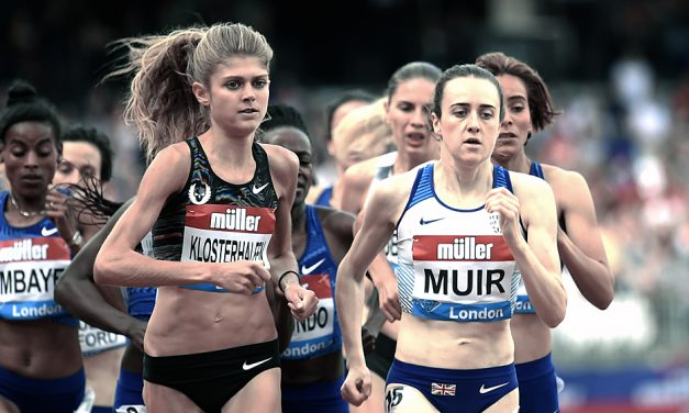 Laura Muir lights up London