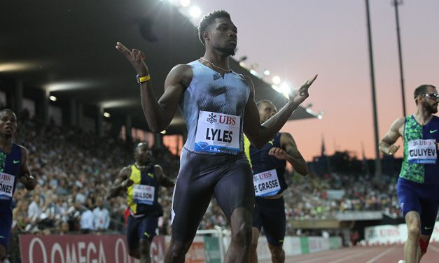 Noah Lyles storms to 19.50 200m in Lausanne