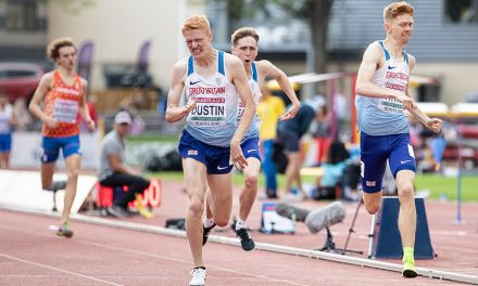 Oliver Dustin leads GB 800m clean sweep in Borås