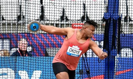 Lawrence Okoye talks about surprise return to athletics