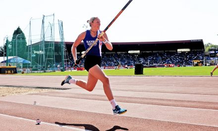 Holly Bradshaw wins 12th British title with record vault