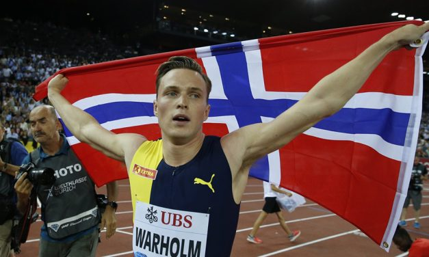 Karsten Warholm claims historic hurdles win in Zurich
