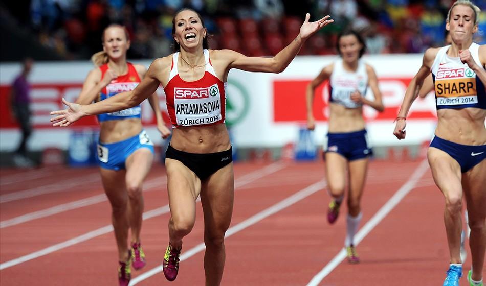 Marina Arzamasova provisionally suspended