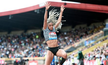 Record-breaking Nafi Thiam lands long jump win in Birmingham