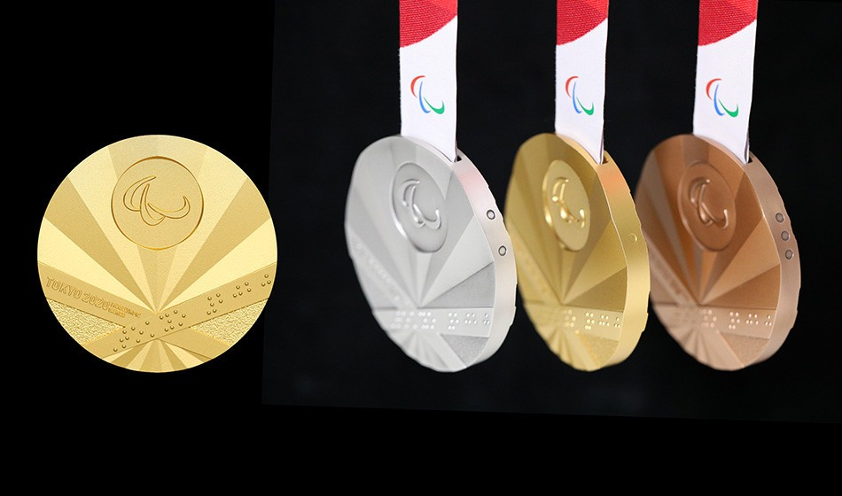 Paralympic medals revealed with one year to Tokyo 2020