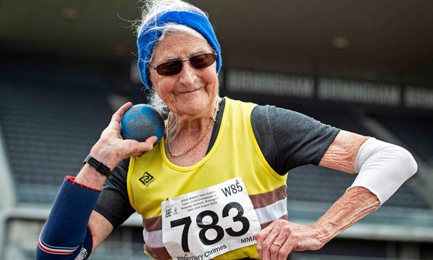 Rosemary Chrimes among record-breakers at British Masters Championships