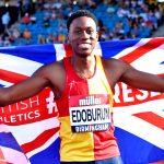 Ojie Edoburun pips rivals to British 100m title