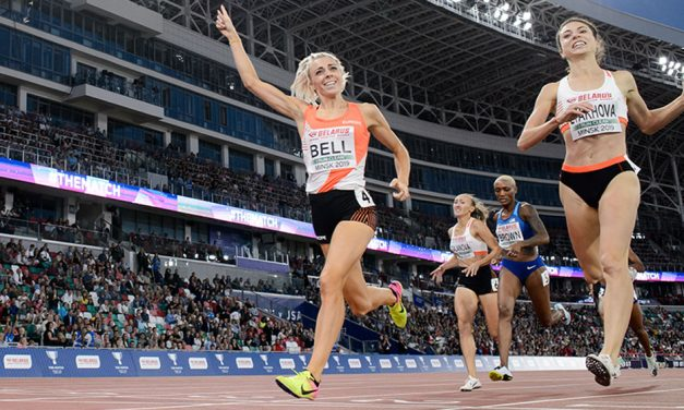 Alex Bell and Daryll Neita win in Minsk