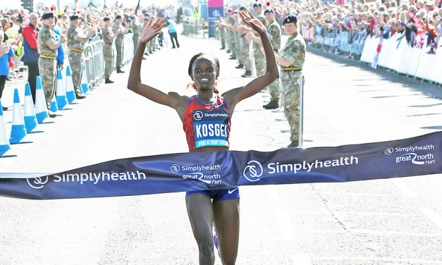 Brigid Kosgei runs fastest half-marathon ever by a woman
