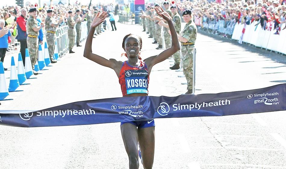Brigid Kosgei runs fastest half-marathon ever by a woman