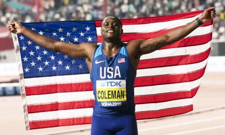 Controversial Christian Coleman rules the world
