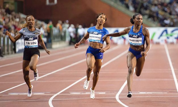 Dina Asher-Smith enjoys big win in Brussels