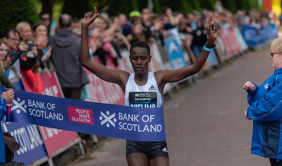 Edith Chelimo and Timothy Toroitich win Great Scottish Run – weekly round-up