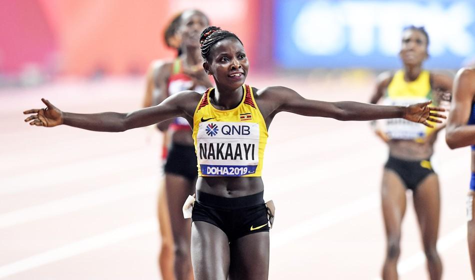 Halimah Nakaayi springs surprise in world 800m