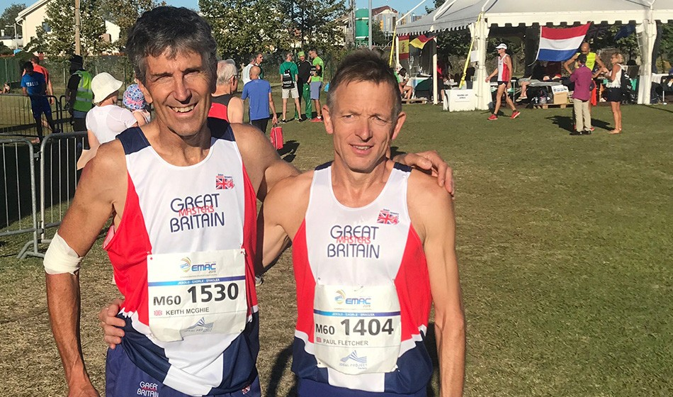 Paul Fletcher completes unique triple at Euro Masters