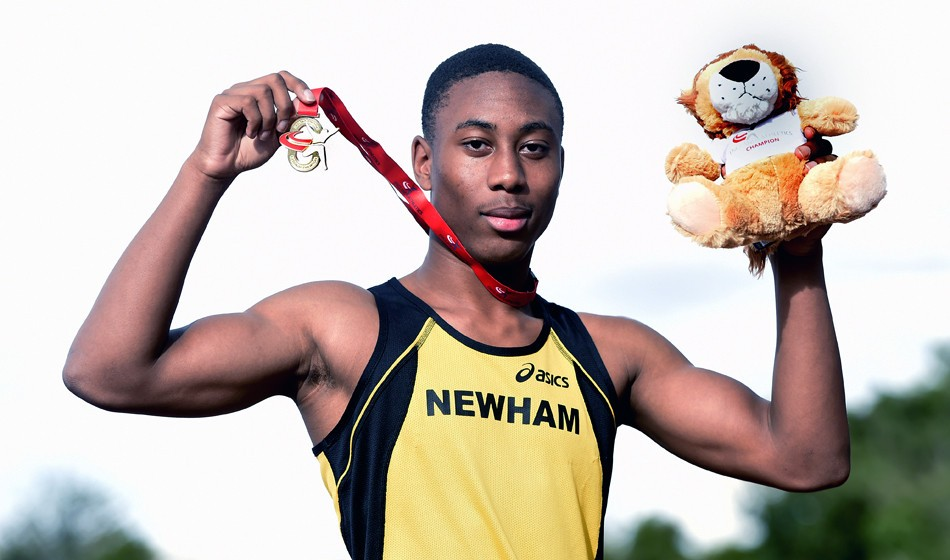 Joel Pascall-Menzie secures sprint double in Bedford