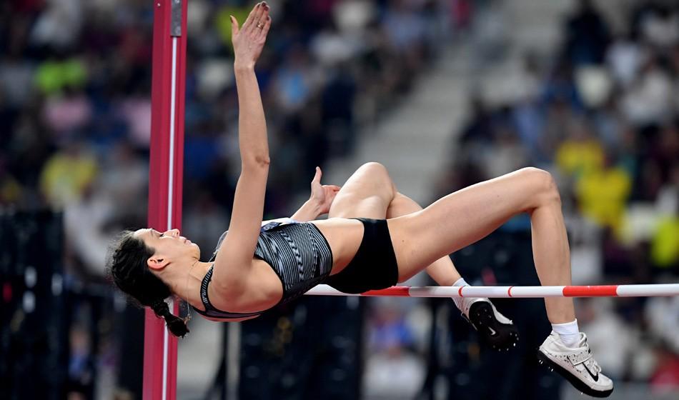 High jump hat-trick for Mariya Lasitskene in Doha