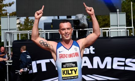 Richard Kilty voted GB team captain for Doha