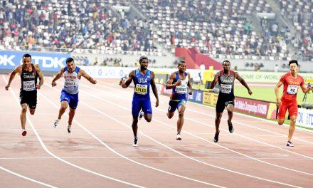 Noah Lyles lands 200m world gold as Adam Gemili just misses medal