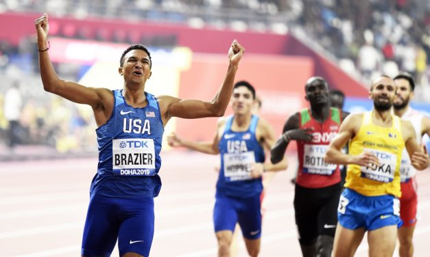 Donavan Brazier keen to prove that 2019 was no fluke
